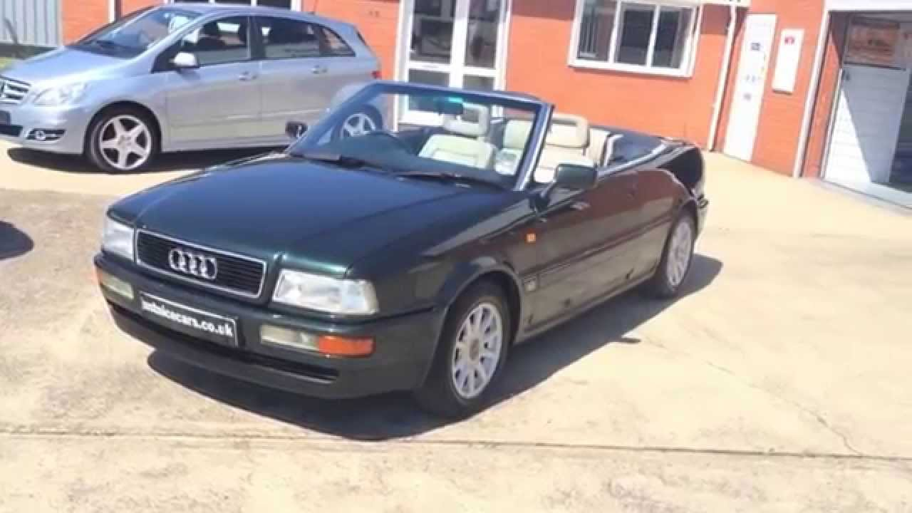 1995 n audi 80 cabriolet 2 0e sorry now sold youtube. Black Bedroom Furniture Sets. Home Design Ideas