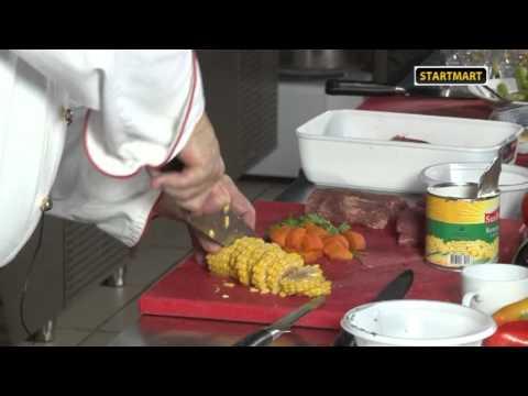 11.Бразильская кухня. Суп кукурузный