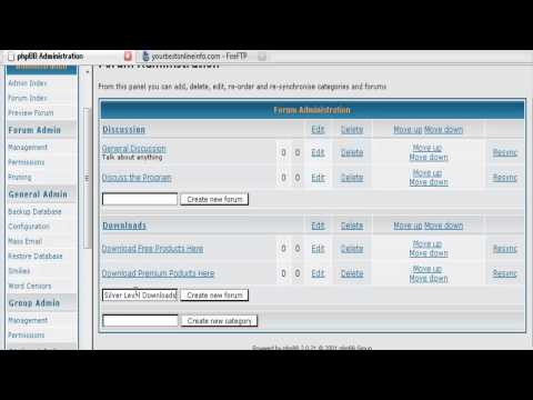 How Can I Create A PHPBB Forum? (Part 2 of 2)
