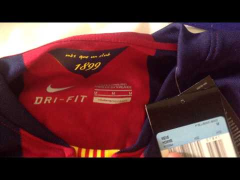 Official authentic FC Barcelona 14/15 Home Kit video for /r/Barca