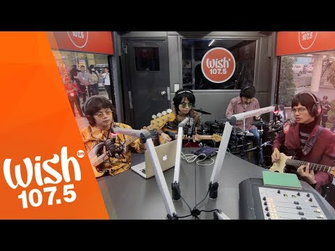 """IV of Spades perform """"Where Have You Been, My Disco?"""" LIVE on Wish 107.5 Bus"""