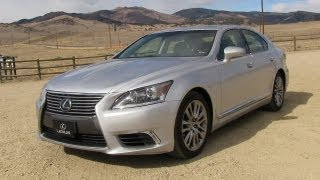 2013 Lexus LS460 0-60 MPH Test, Drive and Review