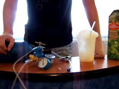 Кислородный коктейль сделать в домашних условиях