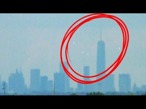 UFOs Breaking News UFOs Over New York City Skyline MAY, 2014.