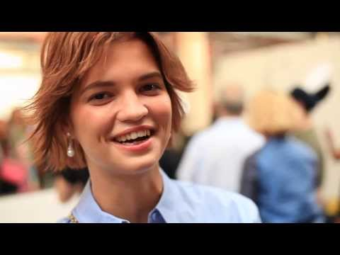 Pixie Geldof talks SS13 with House of Holland HD