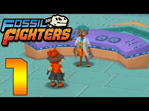 Fossil Fighters ds Fossil Fighters ds Part 1 a