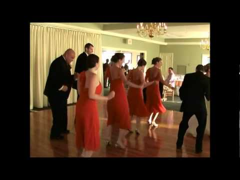 Cupid Shuffle Dance At Wedding Reception! video
