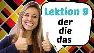 download lagu German Lesson 9: The German Definite Articles Der, Die, gratis