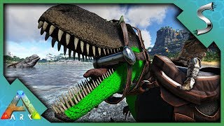 DANGER IS EVERYWHERE! TORVOSAURUS TAMING! - Ark: Jurassic Park [E32]