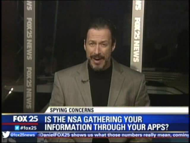 NSA Peeking in on Angry Birds and other Smartphone apps @McAfee
