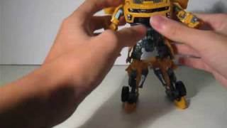 Transformers ROTF Revenge of The Fallen Cannon Bumblebee Review