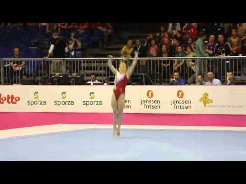 Marine BREVET FRA, Floor Senior Qualification, European Gymnastics Championships 2012