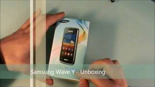 Samsung Wave Y con bada 2.0 - unboxing italiano by StyleTechBlog