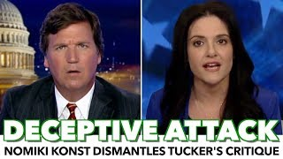 Nomiki Konst Dismantles Tucker's Critique Of Bernie Sanders