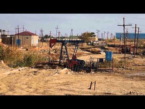Baku oil fields