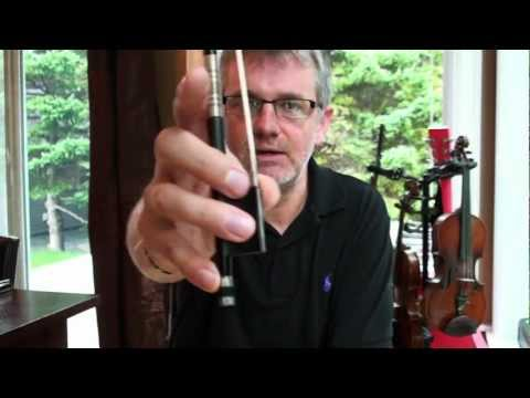 How to Rosin Your Bow for the First Time Violin Lesson - Violin Lessons for Beginners Online Free