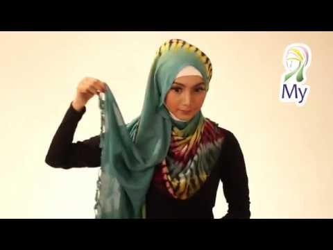 Cara Memakai Hijab Pashmina Simpe Dan Mudah Tutorial Jilbab Modern 2014 By Mybamus