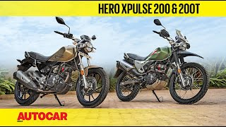 Hero XPulse 200 and XPulse 200T | First Ride Review | Autocar India