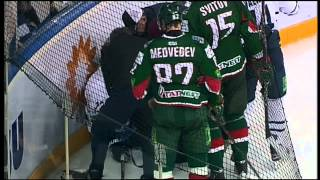 KHL dirtiest hit ever by Panin / Панин возмутительно фолит на Мерли