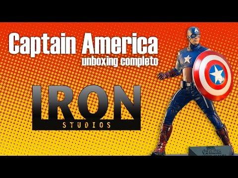 UNBOX: Captain America 1/10 - The Avengers - Iron Studios / Fantoy Statue