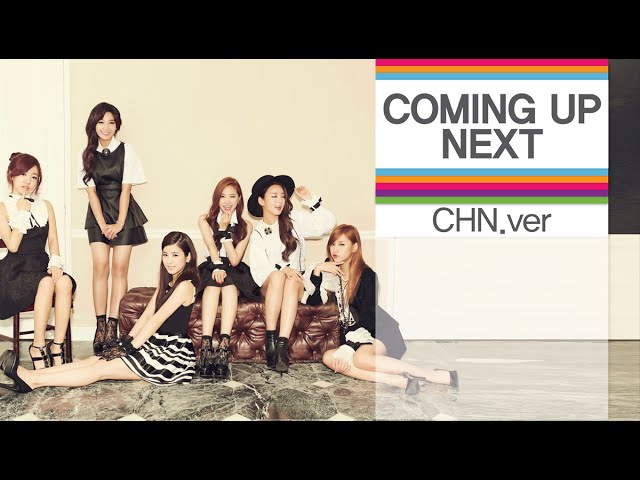 [Kpop] 1theK COMING UP NEXT [CHN Ver.] - 4th week of November, 2014(11월 4주차)