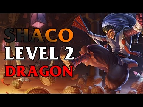 Shaco Killing Dragon On Level 2 Without Taking Any Damage Bug