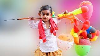 CHOTU DADA FUGE WALA | छोटू दादा गुब्बारे वाला | Khandesh Hindi Comedy | Chotu Comedy Video