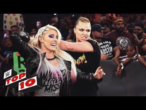 Top 10 Raw moments: WWE Top 10, July 16, 2018 thumbnail