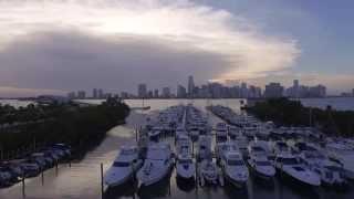 Rickenbacker Marina, Rusty Pelican and Whiskey Joe's at Key Biscayne, Florida