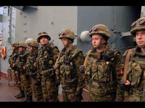 """Russia Marines against the pirates of Somalia"""