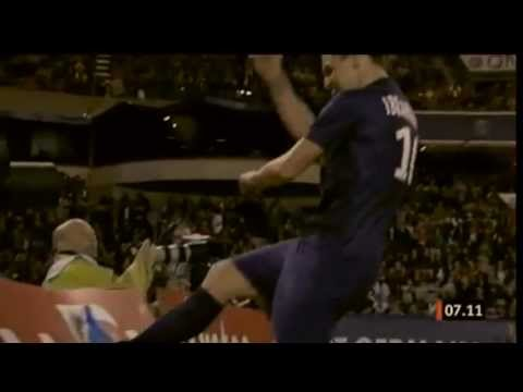 Zlatan Ibrahimovic - Fighting - 2012/13