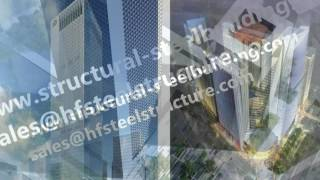 Architecture designed and engineered China high rise buildings made of steel and glass etc