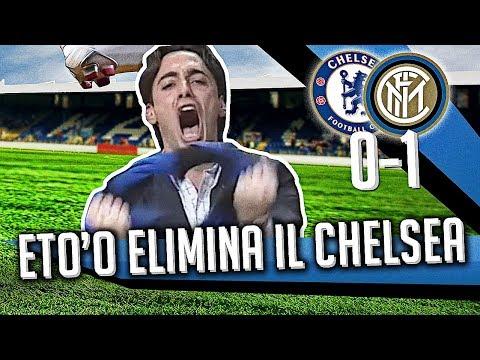 Direttastadio 7Gold - (CHELSEA INTER 0-1) INTER PADRONA A LONDRA, ETO'O ELIMINA IL CHELSEA