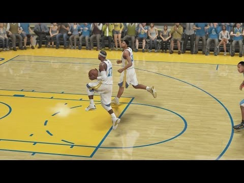 NBA 2K14 PS4 My Career - Self Oop!