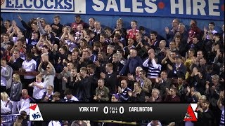 York City 0-0 Darlington - Vanarama National League North - 2017/18