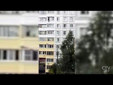 В Минске девушку спасли от прыжка с балкона. Комментарий милиционера
