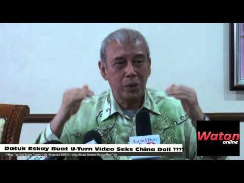 Anwar Ibrahim-datuk Eskay Buat 'u Turn' Video Seks China Doll????? video