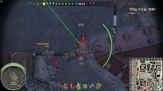 World of tanks PS4[1080p], 1R-S, Рандом с кланом ZERG