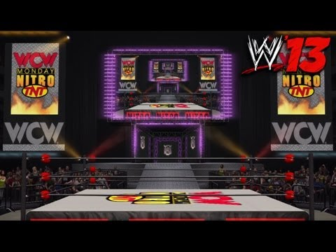 WWE '13 Community Showcase: WCW Monday Nitro Arena (PlayStation 3)
