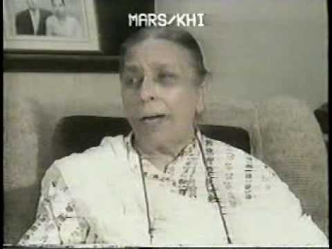 Rare shamshad begum interview