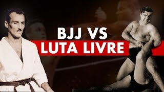 The Story of Brazilian Jiu Jitsu vs Luta Livre