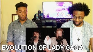Download Lagu EVOLUTION OF LADY GAGA (REACTION) Gratis STAFABAND