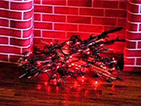 Fake Holiday Fireplace Youtube