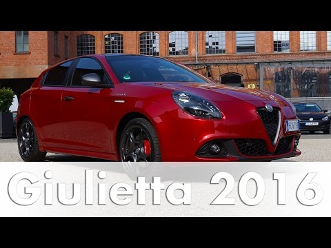Alfa Romeo Giulietta 2017 Veloce | TCT| 1.8 TBi 16V | Test | Fahrbericht | Auto | Deutsch
