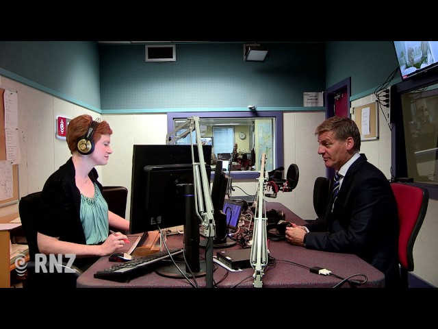Prime Minister Bill English on Morning Report
