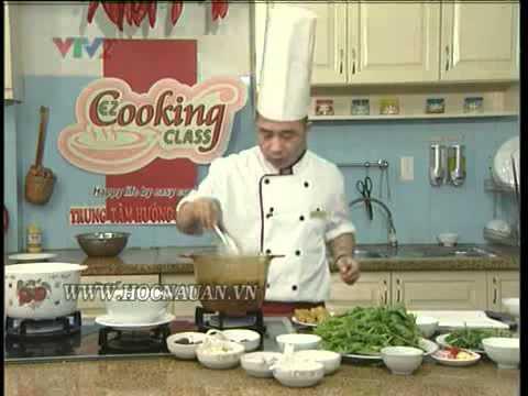 Công thức nấu ăn ngon - Banh da cua
