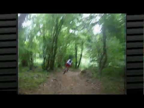Rockrider 9.1 & Lapierre Zesty.monte lavagnola freeride.genova torriglia :)