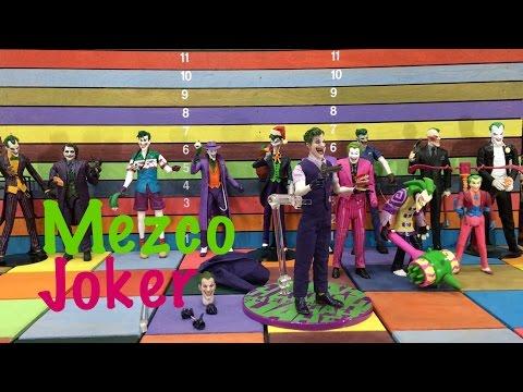 Mezco One:12 Joker Action Figure Toy Review