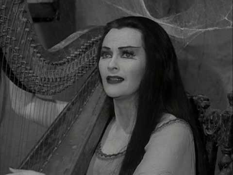 Thumbnail of video Lily Munster Sings & Plays Harp