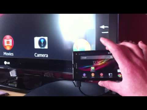 Connecting Sony Xperia Z to a HDTV